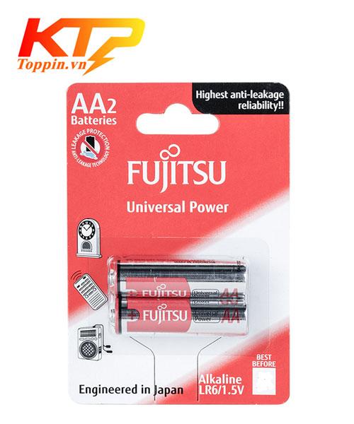 Pin AA Fujitsu LR06 Alkaline chính hãng