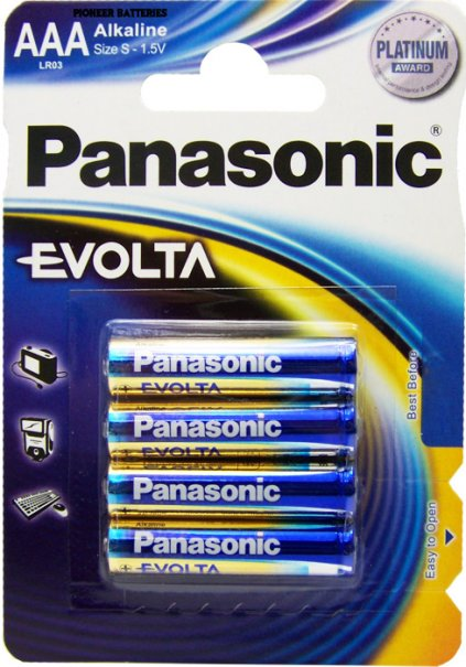 pin panasonic evolta