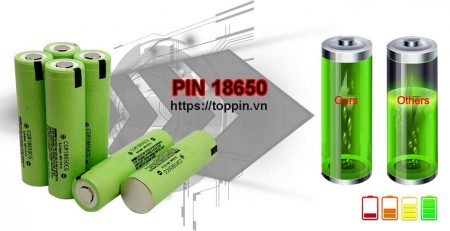 pin 18650 sạc panasonic