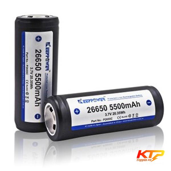 P26-Pin-Keeppower-26650-5500mAh-3.7v-ICR26650