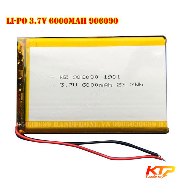 Li-Polymer-3-7V-906090-toppin